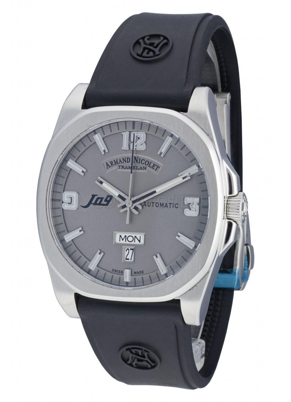 Armand nicolet j09 day date automatic 9650agrg9660 gents watch for Armand nicolet watches