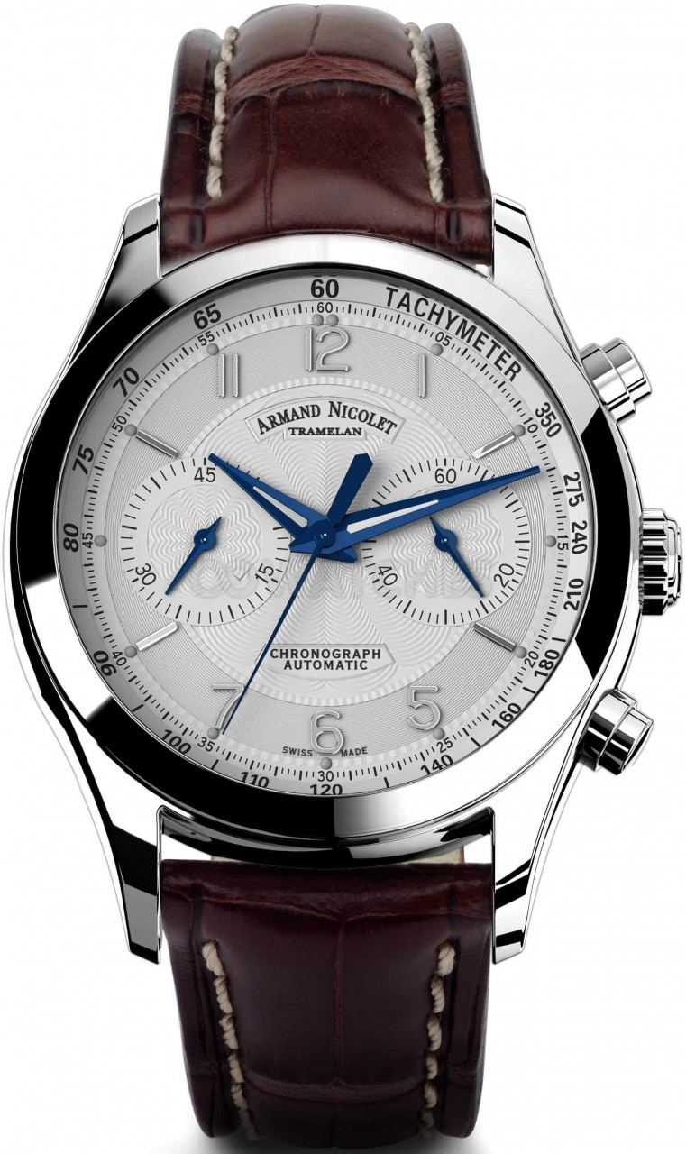 Armand nicolet m02 chronograph 9744aagp974mr2 gents watch for Armand nicolet watches