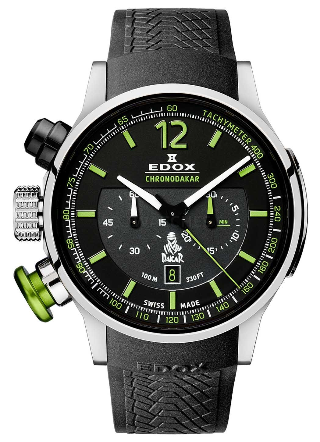 Edox Chronorally Chronodakar Limited Edition 2015 10303 TIN NV watch