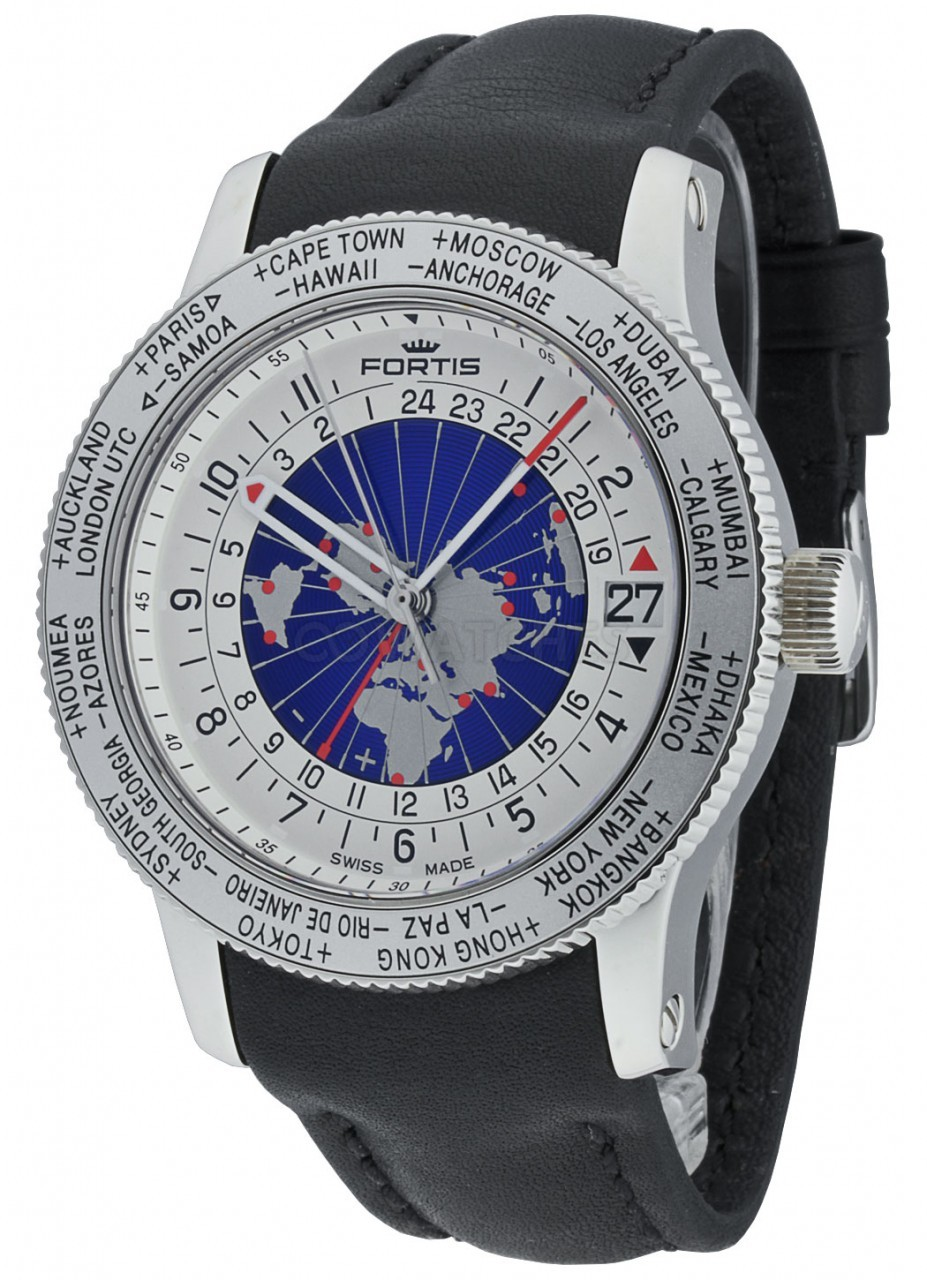 gmt watches timer time picture l watch world gents fortis