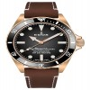 Edox SkyDiver Military Bronze Limited Edition Automatic 80115 BRZN NDR watch picture #2