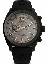 Armand Nicolet S05 Black D.L.C. Chronograph 300M Automatic A714AQNGSGG4710N watch picture