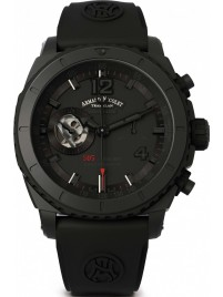Armand Nicolet S05 Black D.L.C. Chronograph 300M Automatic A714AQNNRGG4710N watch image