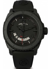 Armand Nicolet S053 Date Black D.L.C. Automatic A710AQNNRGG4710N watch image