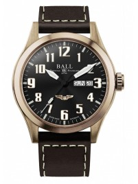 Ball Engineer III Bronze Star USAF Wings NM2186CL2JBK watch image