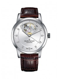 Claude Bernard Classic Open Heart Automatic 85018 3 AIN3 watch image