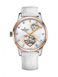 Claude Bernard Classic Open Heart Automatic 85018 357R NAPR2 watch image