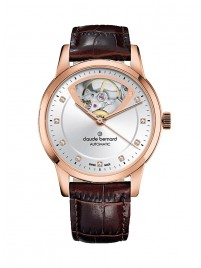 Image of Claude Bernard Classic Open Heart Automatic 85018 37R AIR3 watch