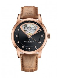Image of Claude Bernard Classic Open Heart Automatic 85018 37R NIR3 watch
