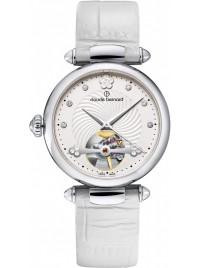 Image of Claude Bernard Dress Code Automatic Open Heart 85022 3 APN watch