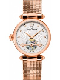 Claude Bernard Dress Code Automatic Open Heart 85022 37RM APR watch image