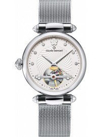 Claude Bernard Dress Code Automatic Open Heart 85022 3M APN watch image