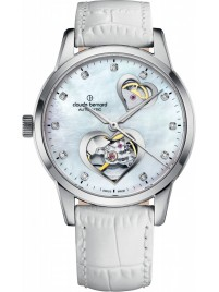 Image of Claude Bernard Dress Code Open Heart 85018 3 NAPN2 watch