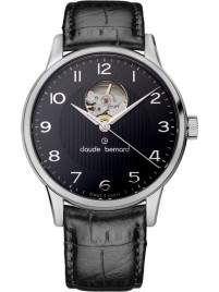 Claude Bernard Sophisticated Classics Automatic Open Heart 85017 3 NBN watch image