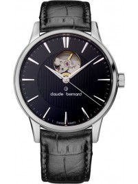 Claude Bernard Sophisticated Classics Automatic Open Heart 85017 3 NIN watch image