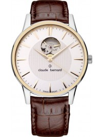 Claude Bernard Sophisticated Classics Automatic Open Heart 85017 357R AIR watch image