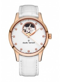 Claude Bernard Sophisticated Classics Open Heart Automatic 85017 37R APR watch image