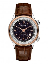 Doxa Blue Planet GMT D181RBU watch image