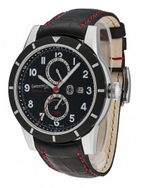 Eberhard Eberhard-Co Tazio Nuvolari Edition Limitee 336 Date GMT Gangreserve 41033.01 CP watch image