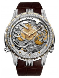 Edox Cape Horn Super Limited Edition Tribute to SEA DUBAI 87003 318D2 AID watch image