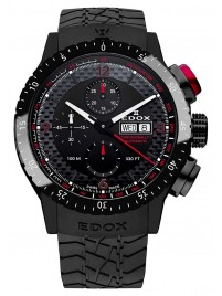 Edox Chronorally 1 Automatic Chronograph 01118 37NR NRO watch image