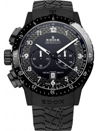 Edox Chronorally 1 Quarz Chronograph 10305 37N NN watch image