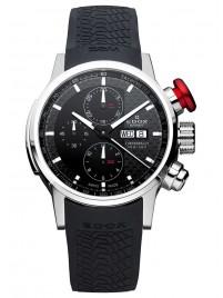 Edox Chronorally DayDate Automatic Chronograph 01116 3PR NIN watch image