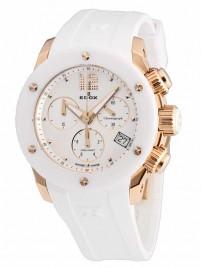 Edox Class 1 Damen Chronograph 10403 37RB NAIR watch image