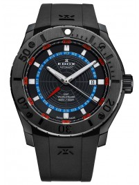 Edox Class1 GMT Worldtimer Automatic 93005 37N NOBU watch image