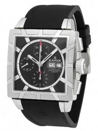 Edox Classe Royale Chronograph 01108 3PB NIN watch image