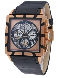 Edox Classe Royale Chronograph Limitid Edition 95001 357RN NIR watch image