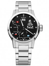 Edox Dakar Limited Edition Big Date 64009 3 NIN2 watch image