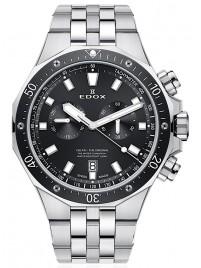 Edox Delfin Chronograph Date Quarz 10109 3M NIN watch image
