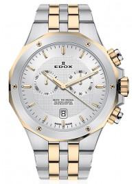 Edox Delfin Chronograph Date Quarz 10110 357JM AID watch image