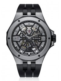 Edox Delfin Mecano Automatic 85303 357GN NGN watch image