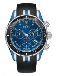 Edox Grand Ocean Chronograph Date Quarz 10248 357BU BUIN watch image