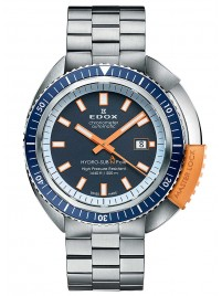 Edox HydroSub Automatic Diver Limited Edition Chronometer 80201 3BUO BU watch image