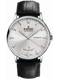 Edox Les Bémonts Day Date Automatic 83015 3 BIN watch image