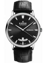 Edox Les Bémonts Day Date Automatic 83015 3 NIN watch image