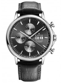 Edox Les Bemonts Chronograph 01120 3 GIN watch image