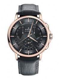 Edox Les Bemonts Perpetual Calendar 01602 37R GIR watch image