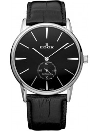 Edox Les Bemonts Ultra Slim Mechanical Gent 72014 3 NIN watch image