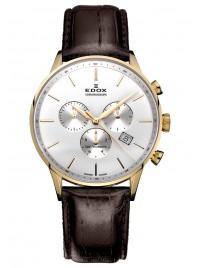 Edox Les Vauberts Chronograph 10408 37JA AID watch image