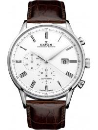 Edox Les Vauberts Chronograph Automatic 91001 3 AR watch image