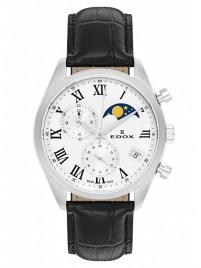 Edox Les Vauberts Chronograph Mondphase Date Quarz 01655 3 ARN watch image