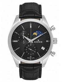 Edox Les Vauberts Chronograph Mondphase Date Quarz 01655 3 NIN watch image