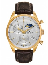 Image of Edox Les Vauberts Chronograph Mondphase Date Quarz 01655 37J AID watch