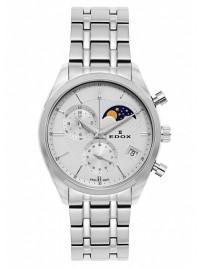 Edox Les Vauberts Chronograph Mondphase Date Quarz 01655 3M AIN watch image