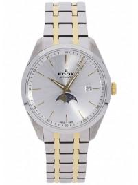 Edox Les Vauberts Date Mondphase Automatic 80505 357JM AID watch image