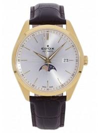 Edox Les Vauberts Date Mondphase Automatic 80505 37J AID watch image